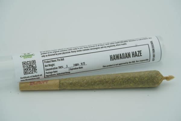 CBD Hawaiian Haze Preroll - Chronic Guru