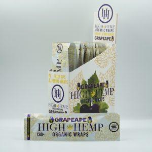 High Hemp organic CBD+ wraps – Grape Ape