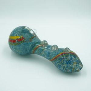 "Glass pipe 4"" – Nub grip blue"