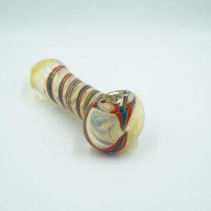 """Glass pipe 4"""" Little Swirl"""