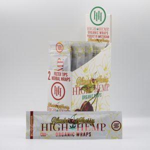 High Hemp organic CBD+ wraps – Blazing Cherry
