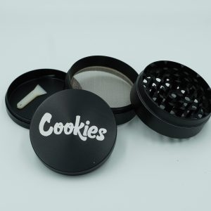 4 Piece Black Cookies Shredder