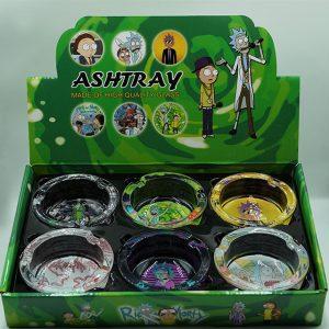 Rick & Morty Glass Ashtray Collectors
